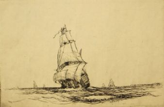 William Alexander Cuthbertson; Tudor Ship 1900's